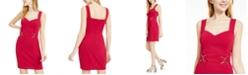 BCX Juniors' Buckle Mini Dress