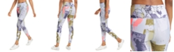 Calvin Klein Floral Colorblocked High-Rise Leggings