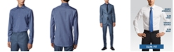 Hugo Boss BOSS Men's Jason Open Blue Shirt