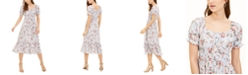 Ultra Flirt Juniors' Ruffle-Hem Midi Dress
