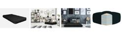 """AJD Home 8"""" Double Foam Futon Mattress, Twin"""