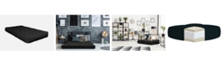 "AJD Home 4"" Single CertiPUR-US Certified Foam Futon Mattress, Twin"