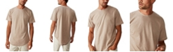 COTTON ON Longline Curve Hem Burnout T-Shirt