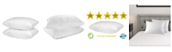 Mastertex Down Alternative Vacuum Packed Pillow, Standard - Set of 2 Pieces