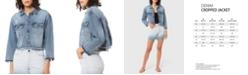 Lola Jeans Plus Size Crop Denim Jacket