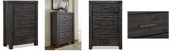 Furniture Avondale Graphite Chest