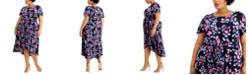 Robbie Bee Plus Size High-Low Dress
