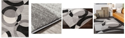 """Abbie & Allie Rugs Chester CHE-2326 Gray 6'7"""" x 9' Area Rug"""