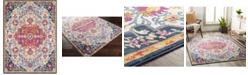 "Abbie & Allie Rugs Floransa FSA-2312 Fuchsia 5'3"" x 7'1"" Area Rug"