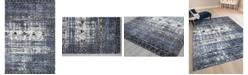 "Amer Rugs Caribe CAR-1 Ivory/Blue 3'5"" x 5'6"" Area Rug"