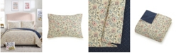Makers Collective Provencal Poppies 3-Piece Full/Queen Quilt Set