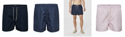 Selected Men's Solid Color Swim Shorts