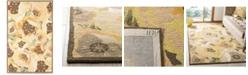 Martha Stewart Collection Poppy MSR4872C Gold 9' x 12' Area Rug