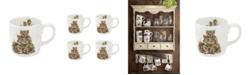 Wrendale Designs Family Pride Mug - Set of 4
