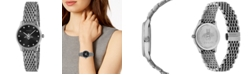 Gucci Women's Swiss G-Timeless Slim Stainless Steel Bracelet Watch 29mm