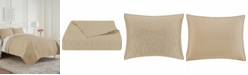 Waterford Mosaic 3 Piece Coverlet Set