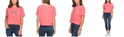 Tommy Jeans Cotton Burnout T-Shirt