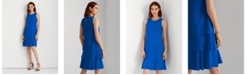 Lauren Ralph Lauren Georgette Shift Dress
