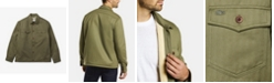 Lacoste Men's Sherpa Lined Cotton Overshirt