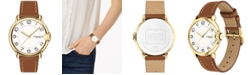 COACH Women's Arden Saddle Leather Strap Watch 36mm