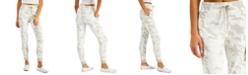 Planet Gold Juniors' Printed Fleece Jogger Pants