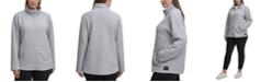 Calvin Klein Plus Size Full-Zip Textured Jacket