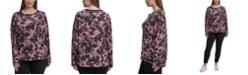 Calvin Klein Plus Size Printed Top