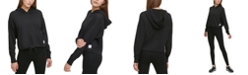 DKNY Sport Cotton Cropped Hoodie