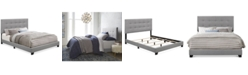 Pulaski Galson Upholstered Queen Bed, Quick Ship