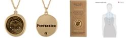 RACHEL Rachel Roy Gold-Tone Evil-Eye Talisman Pendant Necklace