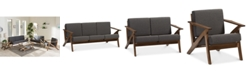 Furniture Cayla Living Room Collection, Quick Ship Furniture