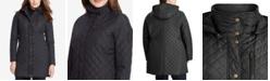 Lauren Ralph Lauren Plus Size Quilted Hooded Jacket, Created for Macy's