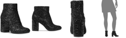 Michael Kors Arabella Glitter Ankle Booties