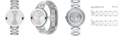 Movado Women's Swiss BOLD Stainless Steel Bracelet Watch 34mm