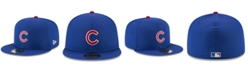 New Era Boys' Chicago Cubs Batting Practice Prolight 59FIFTY FITTED Cap