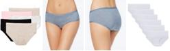 Fruit of The Loom Premium 6-Pk. Ultra-Soft Hipster Underwear 6DPUSP1