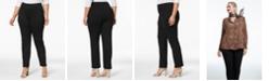 Charter Club Plus Size Ponté-Knit Pants, Created for Macy's