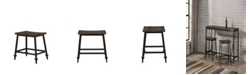 Hillsdale Trevino Backless Non-Swivel Counter Height Stool