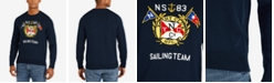Nautica Men's Nautical Graphic Crewneck Sweater