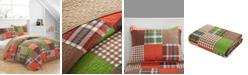Idea Nuova Plaid Patchwork Quilt Set - Full