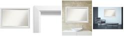 Amanti Art Blanco 24x24 Wall Mirror