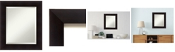 Amanti Art Nero 23x23 Wall Mirror