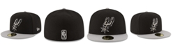New Era San Antonio Spurs Basic 2 Tone 59FIFTY Fitted Cap