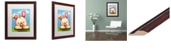"Trademark Global Jennifer Nilsson I Wuv You Matted Framed Art - 16"" x 20"" x 0.5"""