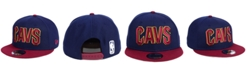 New Era Cleveland Cavaliers Basic 2 Tone 9FIFTY Snapback Cap