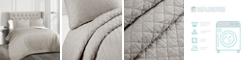 Lush Decor Ava Cotton 3-Piece Full/Queen Quilt Set