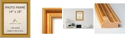 """Amanti Art Townhouse Gold 14"""" X 18"""" Opening Wall Picture Photo Frame"""