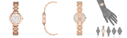 Anne Klein Genuine Mother of Pearl Dial with Arabic Numerals Watch