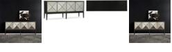 Hooker Furniture Melange Jova Four-Door Credenza