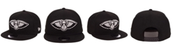 New Era New Orleans Pelicans Black White 9FIFTY Snapback Cap